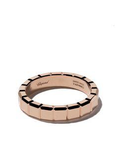 Chopard кольцо Ice Cube из розового золота