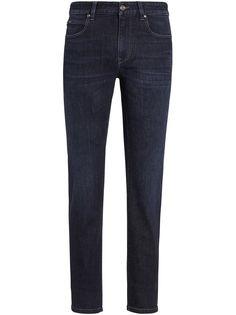 Z Zegna узкие джинсы средней посадки