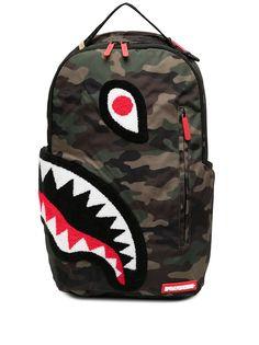 Sprayground камуфляжный рюкзак Torpedo Shark