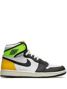 Jordan кроссовки Air Jordan 1 Retro High Volt Gold