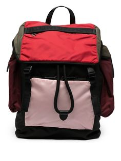 Burberry рюкзак в стиле колор-блок