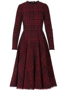 Dolce & Gabbana расклешенное твидовое платье