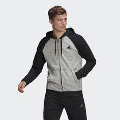 Толстовка Essentials Mélange Small Logo adidas Athletics