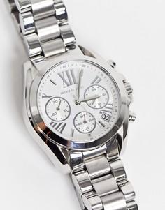 Серебристые часы Michael Kors Bradshaw MK6174-Серебристый