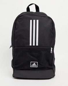 Черный рюкзак с тремя полосками adidas Training Neo-Черный цвет