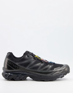 Черные кроссовки Salomon XT-6 ADV-Черный цвет