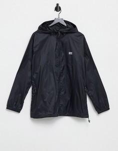 Ветровка черного цвета со складывающимся капюшоном Levis Youth-Черный цвет