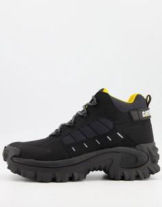 Черные ботинки CAT Resistor-Черный цвет Caterpillar