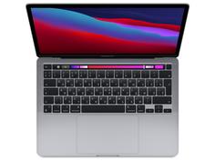 Ноутбук APPLE MacBook Pro 13 (2020) Space Grey MYD92RU/A (Apple M1/8192Mb/512Gb SSD/Wi-Fi/Bluetooth/Cam/13.3/2560x1600/Mac OS)