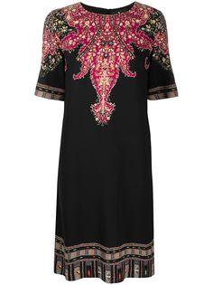 Etro платье-трапеция миди с принтом пейсли