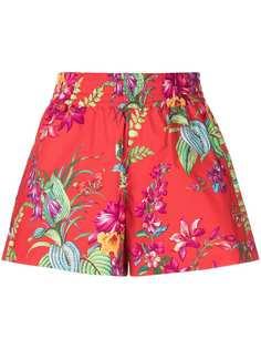 Etro шорты с цветочным принтом