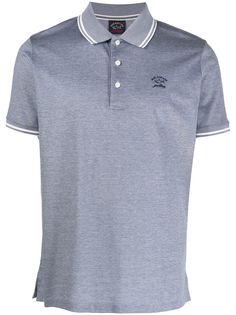 Paul & Shark рубашка поло с вышитым логотипом