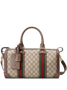 Gucci маленькая сумка Ophidia GG с отделкой Web