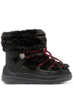 Moncler ботинки с искусственным мехом