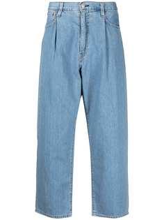 Levis широкие джинсы со складками