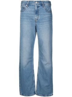 Levis широкие джинсы средней посадки