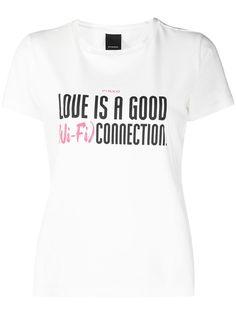Pinko футболка с графичным принтом