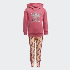 Комплект: худи и леггинсы Graphic adidas Originals