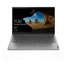 "Ноутбуки Ноутбук LENOVO Thinkbook 15 G2 ITL, 15.6"", IPS, Intel Core i7 1165G7 2.8ГГц, 16ГБ, 256ГБ SSD, Intel Iris Xe graphics , Windows 10 Professional, 20VE0043RU, серый"