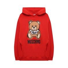 Хлопковое худи Moschino