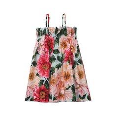 Хлопковый сарафан Dolce & Gabbana