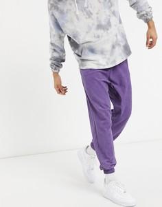 Джоггеры для дома в стиле oversized выбеленного фиолетового цвета ASOS DESIGN-Фиолетовый цвет