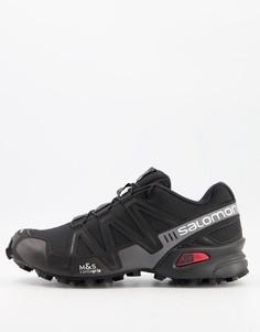 Черные кроссовки Salomon Speedcross 3 ADV-Черный цвет