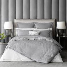 Комплект постельного белья Togas Кирос Двуспальный евро серый