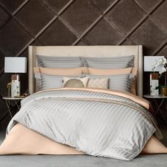 Комплект постельного белья Togas Барнетт Семейный светло-серый