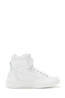 Кожаные белые кроссовки Acne Studios