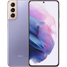 Смартфон Samsung Galaxy S21+ 128 ГБ фиолетовый фантом