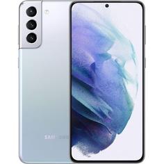 Смартфон Samsung Galaxy S21+ 256 ГБ серебряный фантом