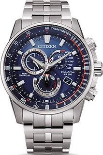 Японские наручные мужские часы Citizen CB5880-54L. Коллекция Radio Controlled