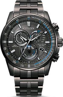 Японские наручные мужские часы Citizen CB5887-55H. Коллекция Radio Controlled