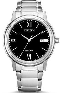 Японские наручные мужские часы Citizen AW1670-82E. Коллекция Eco-Drive
