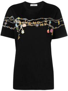 Givenchy футболка Charms с логотипом
