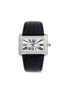Cartier наручные часы Tank Divan pre-owned 38 мм 2005-го года