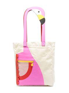 Stella McCartney Kids сумка-тоут с аппликацией