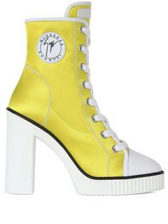 Giuseppe Zanotti ботинки на шнуровке