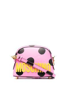Moschino сумка через плечо с логотипом