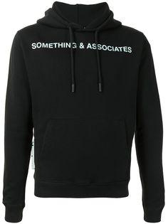 Off-White худи Something & Associates
