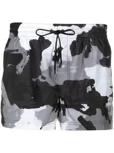 Dolce & Gabbana плавки-шорты с камуфляжным узором