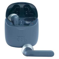 Гарнитура JBL T225 TWS, Bluetooth, вкладыши, синий [jblt225twsblu]