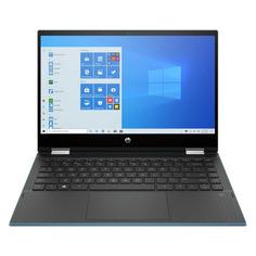 "Ноутбук-трансформер HP Pavilion x360 14-dw1007ur, 14"", IPS, Intel Core i5 1135G7 2.4ГГц, 8ГБ, 256ГБ SSD, Intel Iris Xe graphics , Windows 10, 2X2R4EA, зеленый"