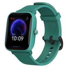 """Смарт-часы AMAZFIT Bip U, 1.43"""", зеленый / зеленый"""