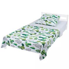 Комплект постельного белья Моей крохе Кактусы