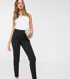 Черные строгие брюки с эластичным поясом Y.A.S Tall-Черный цвет