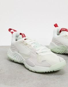Кремовые кроссовки Jordan Delta-Кремовый