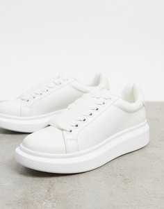 Белые кроссовки с сердечком ALDO Retamoza-Белый