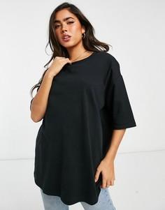 Черный oversized-свитшот Selected Femme-Черный цвет